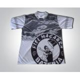 Camiseta Bateria Fiel Macabra Branca
